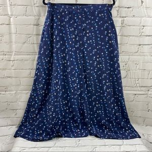 Soft works Montreal button down front skirt